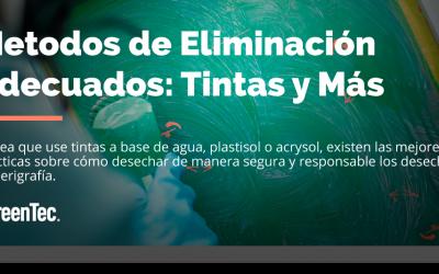 Metodos de Eliminación de Tintas plastisol